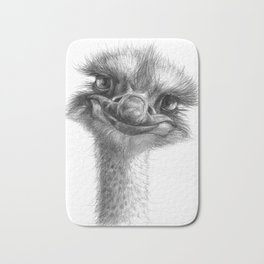 Hello-you ostrich sk130 Bath Mat