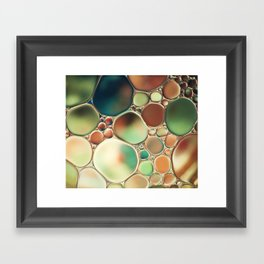 Pastel Abstraction Framed Art Print