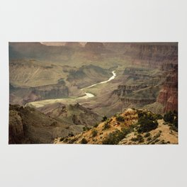 Grand Canyon in the Spring Rug