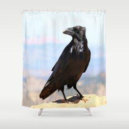 Bryce Canyon Raven Shower Curtain