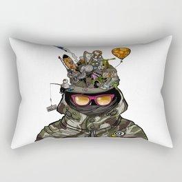 Snazzy Cap. Rectangular Pillow