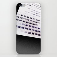 building iPhone & iPod Skins featuring Building by ONEDAY+GRAPHIC
