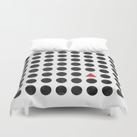 minimalism Duvet Covers featuring Minimalism 2 by Mareike Böhmer