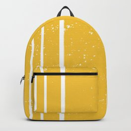 Yellow Stripes Summer Pattern Backpack