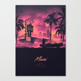 HOTLINE MIAMI / NEW 2018 Canvas Print