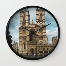 Westminster in Summer. Wall Clock