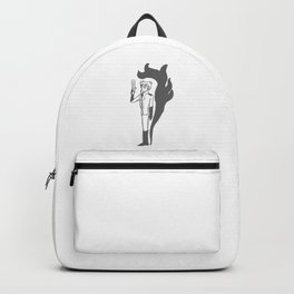'Life Needs Things to Live' Backpack