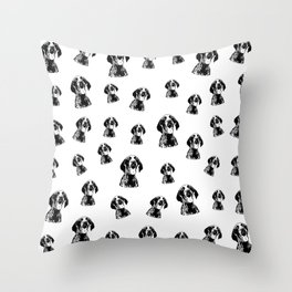 GERMAN POINTER SHORTHAIRED DOG,GIFTS FROM MONOFACES FOR ALL IN 2020 Throw Pillow