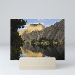 Aiguestortes sunset Mini Art Print