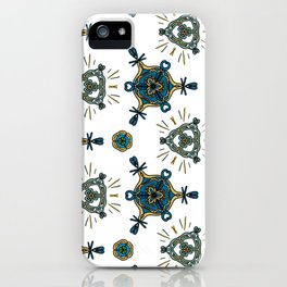 blue shore iPhone Case