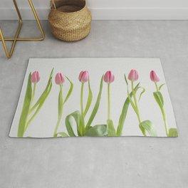 Rose tulips Rug