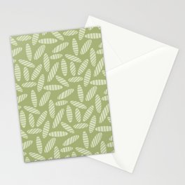 Green Grain Stationery Cards