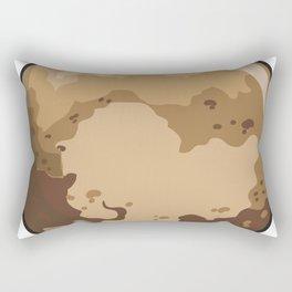 Pluto Icon Rectangular Pillow