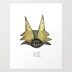 Rise Art Print