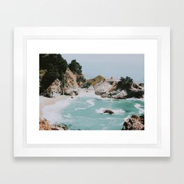 big sur / california Framed Art Print