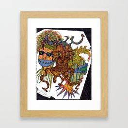 The Weirdos Framed Art Print