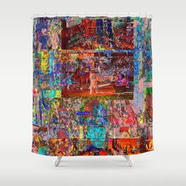 Hertz Donut (Or, The ONLY Bad Thing About History?!) [A.N.T.S. Series] Shower Curtain