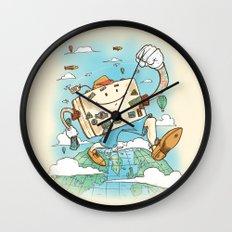 Mr Globetrotter Wall Clock