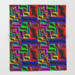 ColorBlox - Hammered Throw Blanket