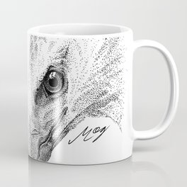 Harpy Eagle Stippling Coffee Mug