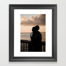 The Player Framed Art Print