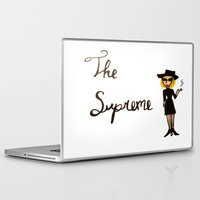 supreme Laptop & iPad Skins featuring The Supreme by Dax M