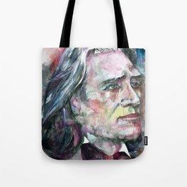 FRANZ LISZT - watercolor portrait.2 Tote Bag