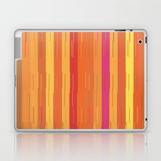 Orange and Yellow Stripes and Lines Abstract Laptop & iPad Skin