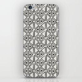 Block Print Diamond iPhone Skin