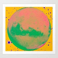 your Mars Art Print