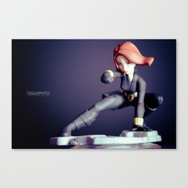 """Black Widow""  Canvas Print"