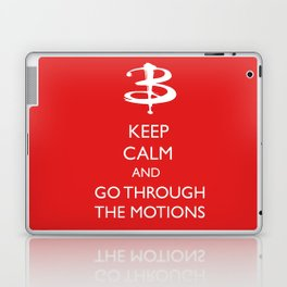 Go through the motions Laptop & iPad Skin
