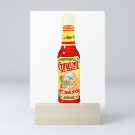 Cthulhu Hot Sauce Mini Art Print