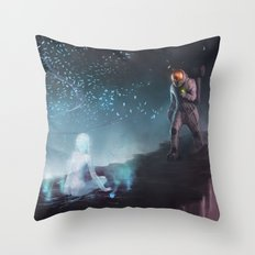 Space Dreams Throw Pillow