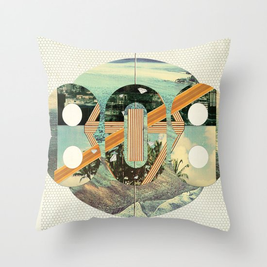 808 State Throw Pillow