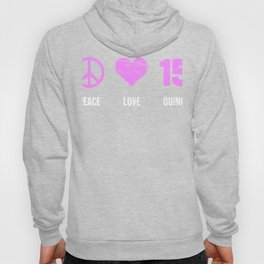 Peace, Love, Quince - Quinceanera Hoody
