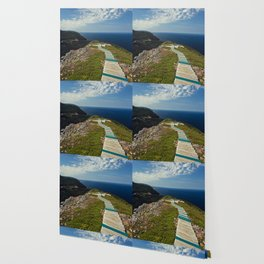 skyline walkway Wallpaper