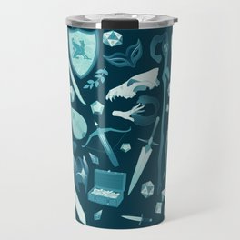 D&D things Travel Mug