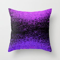 sparkly exchange Throw Pillow