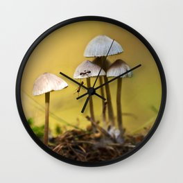 With a little help Wall Clock