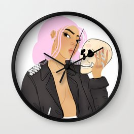 Dead men can't catcall Wall Clock