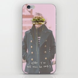 Nick Wooster is my co-pilot iPhone Skin