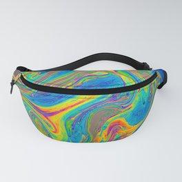 Rainbow Swirls Fanny Pack