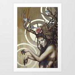Sakari Art Print
