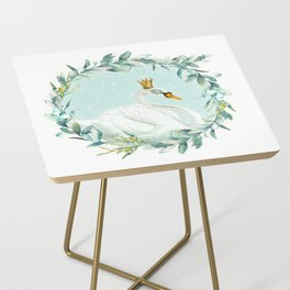 White Swan Side Table