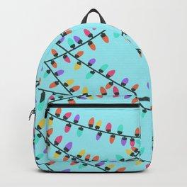 Winter lights #6 Backpack