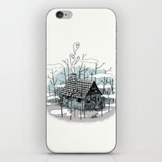 DEEP IN THE HEART OF THE FOREST iPhone & iPod Skin