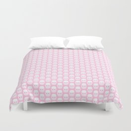 Cute pink marshmallows Duvet Cover