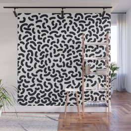 black worms Wall Mural