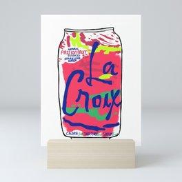 passionfruit La Croix or death Mini Art Print
